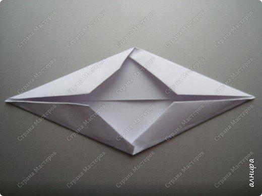 Лодочка оригами.МК фото 6