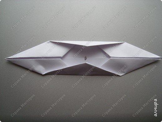 Лодочка оригами.МК фото 7