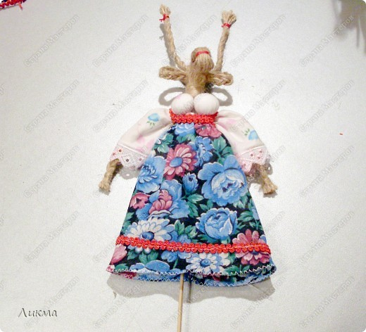 Коза ( по мотивам народной куклы) фото 11