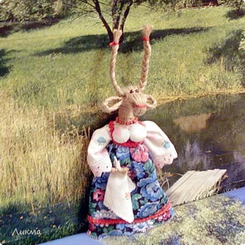 Коза ( по мотивам народной куклы) фото 12