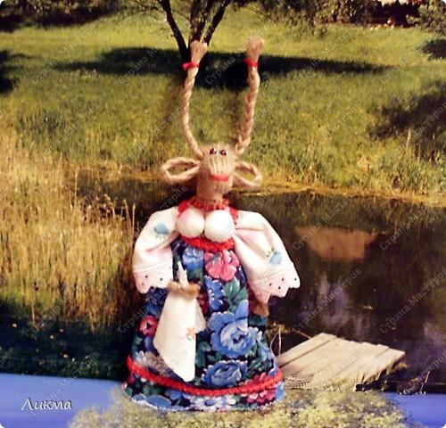 Коза ( по мотивам народной куклы) фото 1