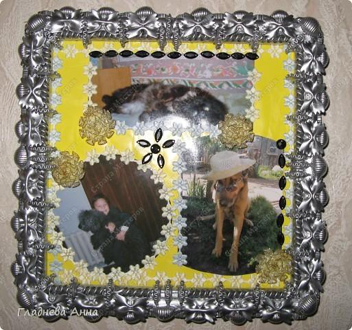 Очередная макаронная рамка. фото 1