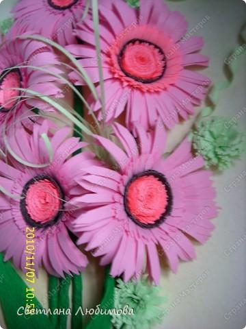 Вот такие цветы родились благодаря Ольге Ольшак! Очень понравилось их делать, просто и быстро. фото 2