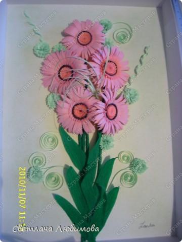 Вот такие цветы родились благодаря Ольге Ольшак! Очень понравилось их делать, просто и быстро. фото 3