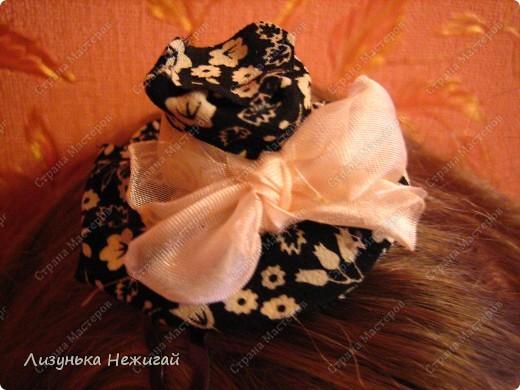 Заколка- шляпка фото 1