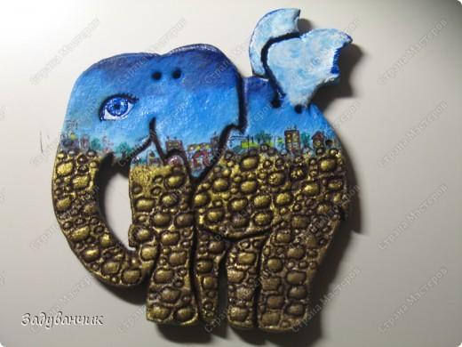 Вот они, три слонёнка, розового делала моя доченька ) фото 2