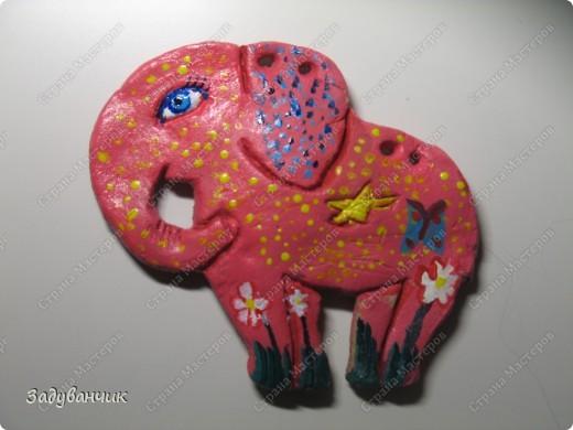 Вот они, три слонёнка, розового делала моя доченька ) фото 4