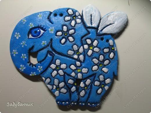 Вот они, три слонёнка, розового делала моя доченька ) фото 3