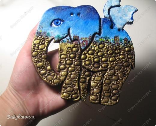Вот они, три слонёнка, розового делала моя доченька ) фото 5