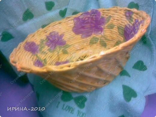 Декупаж на хлебнице фото 2