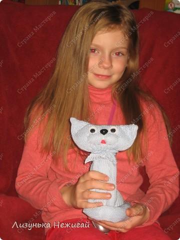 первый большой кот сделан с помощью мамы фото 1