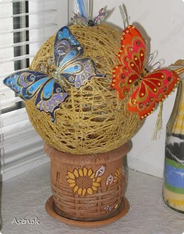 """Вот такой """"цветочек"""" с бабочками :) фото 1"""