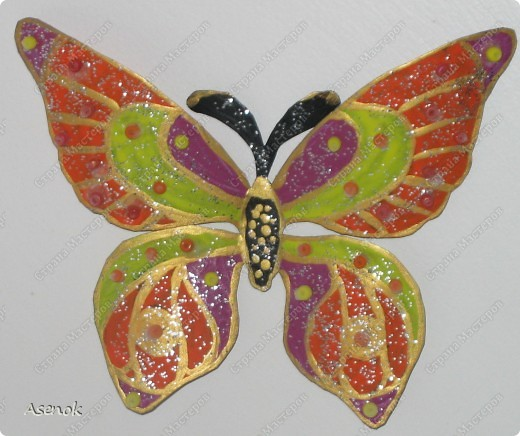 """Вот такой """"цветочек"""" с бабочками :) фото 3"""