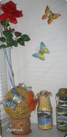"""Вот такой """"цветочек"""" с бабочками :) фото 4"""