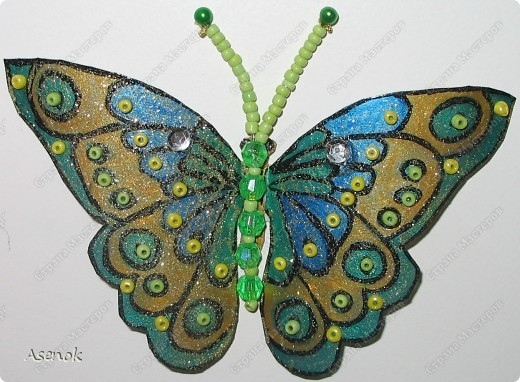"""Вот такой """"цветочек"""" с бабочками :) фото 5"""