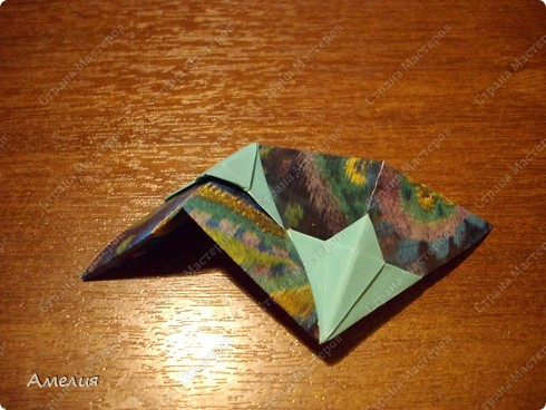 "Еще один МК на кусудаму из книги Томоко Фусе ""floral globe"" фото 29"