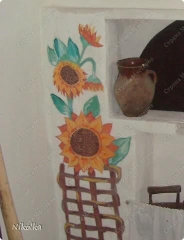 """вот такую вот память оставила после себя в школе) ну нас есть так называемая """"свитлыця"""" там полно различных вещей посвящённых украинской культуре , и сделана она в народном украинском стиле  фото 4"""