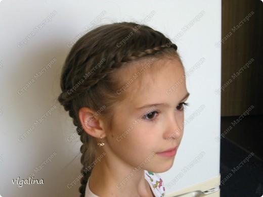 Некоторые причёски, которые я плету своей дочери фото 1