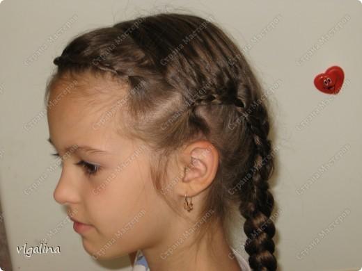 Некоторые причёски, которые я плету своей дочери фото 2