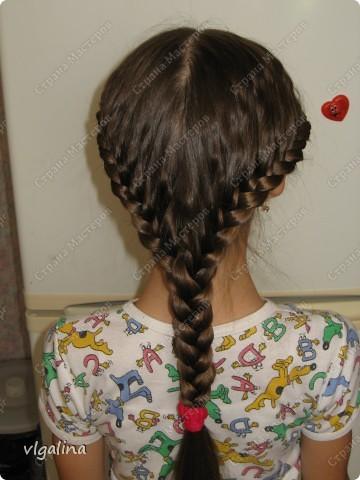 Некоторые причёски, которые я плету своей дочери фото 3