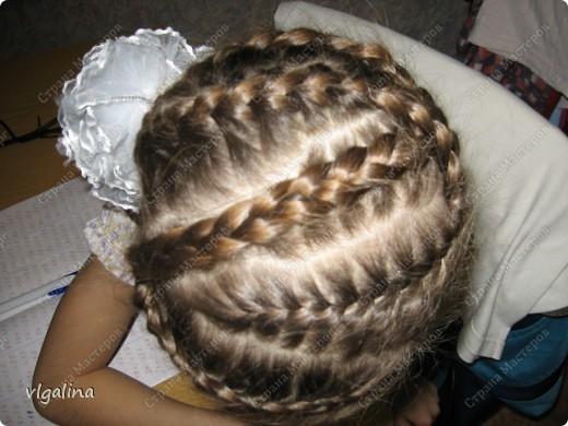 Некоторые причёски, которые я плету своей дочери фото 6