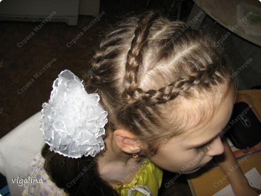 Некоторые причёски, которые я плету своей дочери фото 5