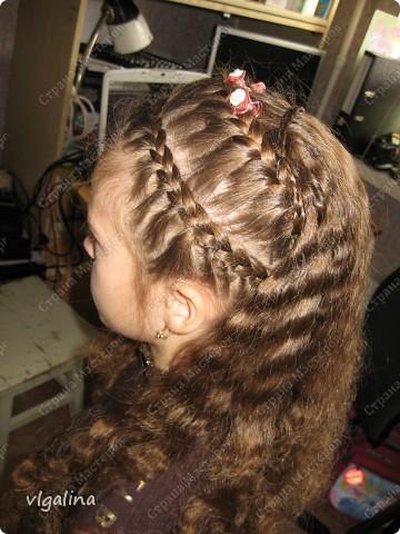 Некоторые причёски, которые я плету своей дочери фото 9