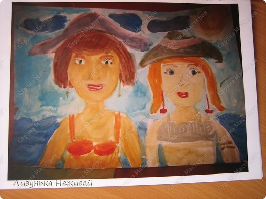 Мы с мамой на море