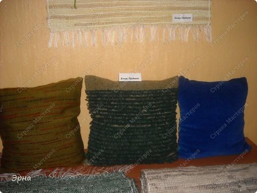 Сотканые на ручном станке наволочки для подушечек