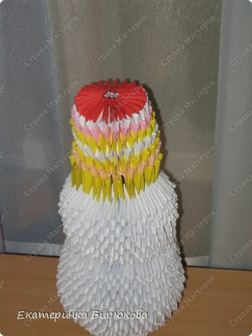 Мой снеговик ещё не закончен, я не доделала ему глазки и ротик, но скоро он будет готов!!! фото 2