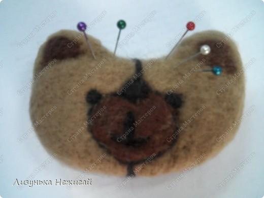 Мишка Тедди- иголочница