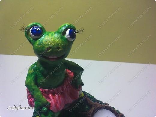 Вот такая лягушка-деловушка получилась)) фото 7