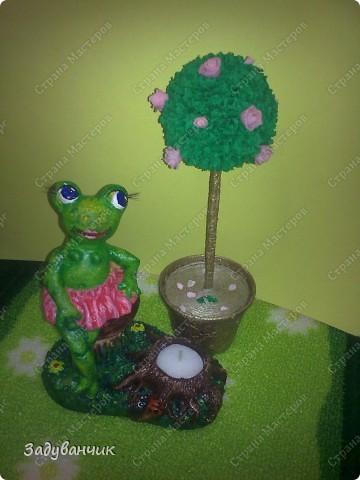 Вот такая лягушка-деловушка получилась)) фото 1