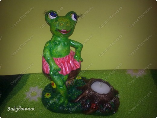 Вот такая лягушка-деловушка получилась)) фото 2