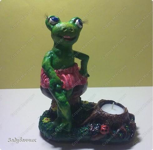 Вот такая лягушка-деловушка получилась)) фото 5
