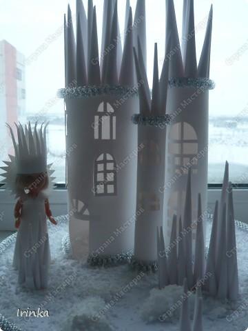 Замок снежной королевы фото 1