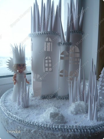 Замок снежной королевы фото 4