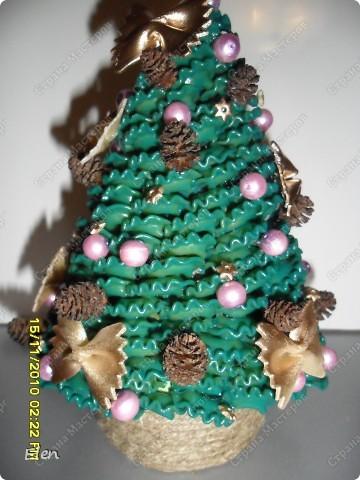 зайцы у елки из соленого теста фото 5
