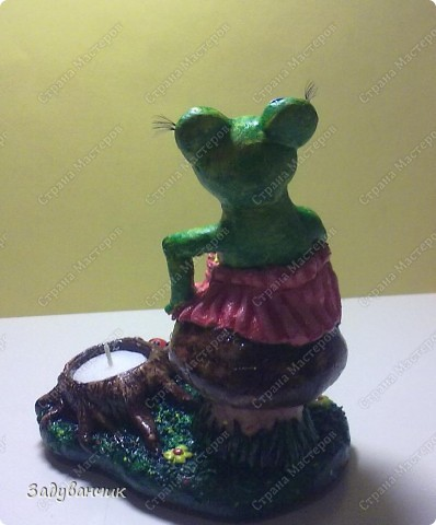 Вот такая лягушка-деловушка получилась)) фото 6