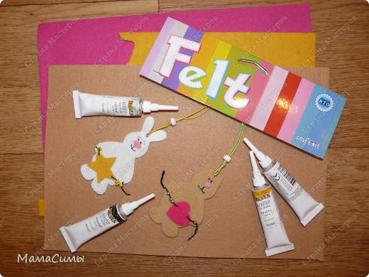 Фетр, контуры для ткани, бусинки, шнур - вот и получились презенты новогодние. фото 1