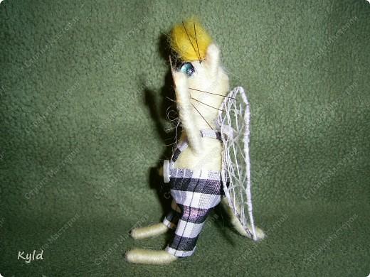 Продолжаю потихоньку крутить ниточки))))) Вот такая парочка котиков у меня родилась фото 3