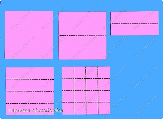 Сегодня будем с малышами мастерить сани. Предварительно мы учились складывать прямоугольные коробочки из квадрата. Здесь я даю МК, включая и предварительную подготовку. фото 2
