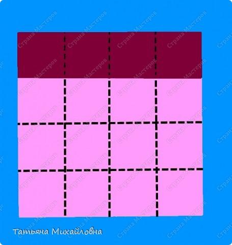 Сегодня будем с малышами мастерить сани. Предварительно мы учились складывать прямоугольные коробочки из квадрата. Здесь я даю МК, включая и предварительную подготовку. фото 3