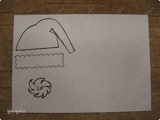 Грядет год кота, и вот такая придумалась открытка. Решила сделать МК. Делаю первый раз - прошу снисхождения.   фото 21