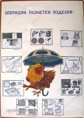 Таблицы для уроков технологии оформляю сама, детям очень нравятся такие зверюшки... фото 3
