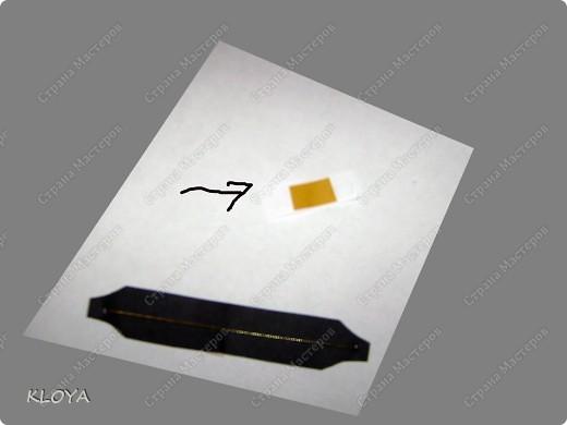 """Вот такую """"бирочку"""" с надписью можно смастерить для украшения открытки. фото 12"""