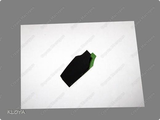 """Вот такую """"бирочку"""" с надписью можно смастерить для украшения открытки. фото 4"""