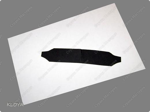 """Вот такую """"бирочку"""" с надписью можно смастерить для украшения открытки. фото 5"""