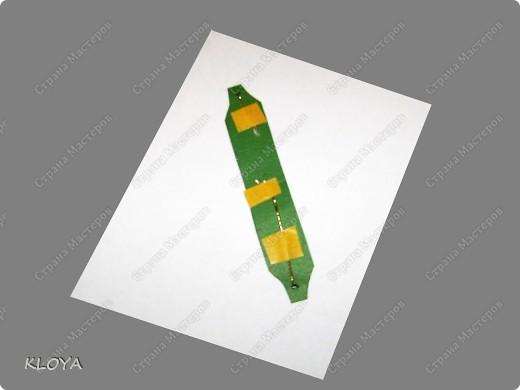 """Вот такую """"бирочку"""" с надписью можно смастерить для украшения открытки. фото 9"""