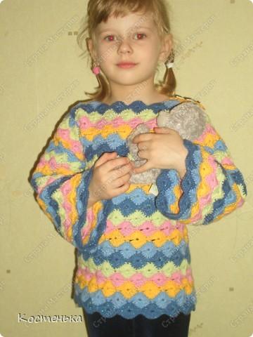 Кофточка для доченьки фото 1